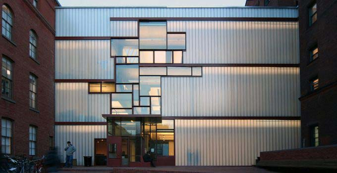 Pratt Institute Higgins Hall | Bendheim Channel Glass