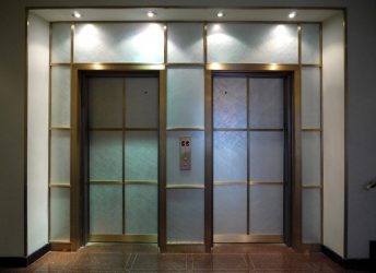 20 Sutton Place Residential Building | Glass Elevator Wall