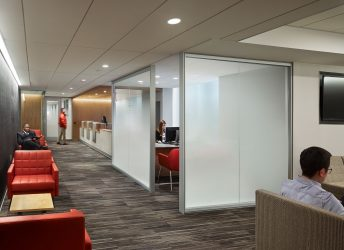 NYU Langone Medical Center | White Fade Glass
