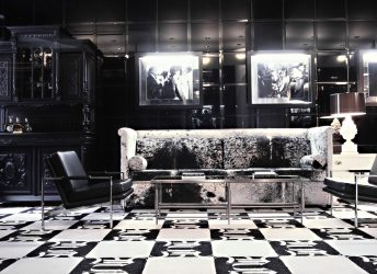 Vikram Chatwal's Night Hotel | Black Glass Wall