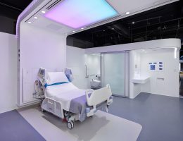 Patient Room 2020 Prototype | Glass Sliding Door
