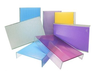 Color-Fritted Channel Glass