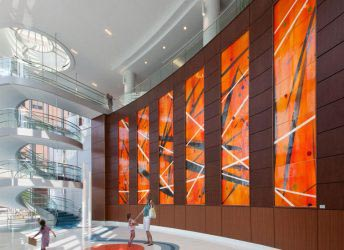 Children's Hospital of Alabama | Stained Glass Wall