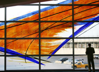 BWI Baltimore/Washington International Airport | Stained Glass Window