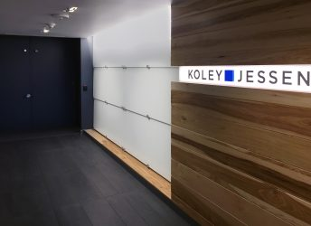 Koley Jessen P.C. Lobby | Bendheim WallScreen Project