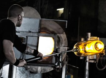 Mouth-Blown Glass Production