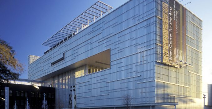 Shaw Center for the Arts | Bendheim Channel Glass Project