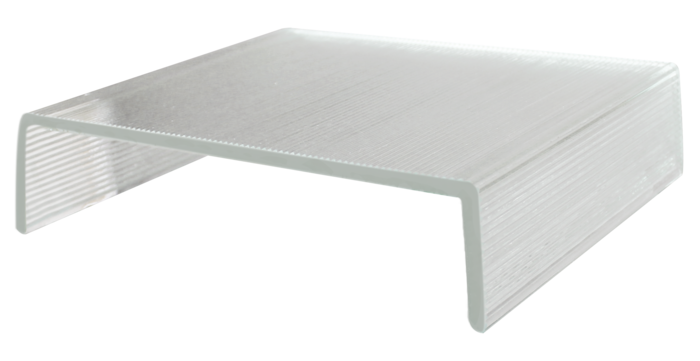 low iron glass table
